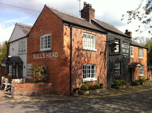 The Bull's Head in Mobberley, Cheshire