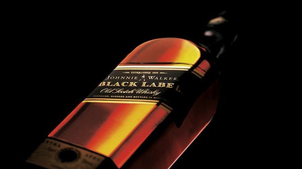 Johnnie Walker close-up